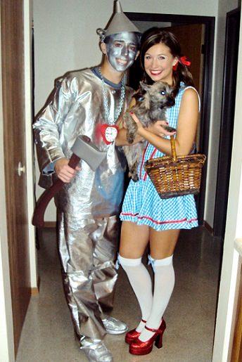 disfraz carnaval 2014 pareja mago de oz