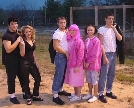 Disfraz de John Travolta y Olivia Newton John o Grease