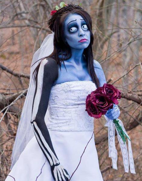 maquillaje de novia cadaver