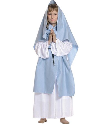 Disfraces baratos para niños Navidad 2013 virgen maría