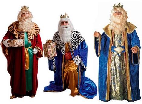 Disfraces de Reyes Magos baratos para la Navidad 2013