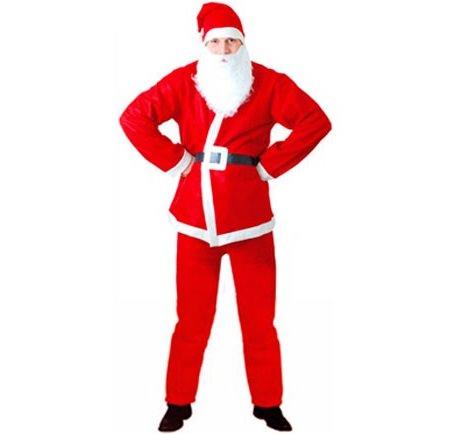 disfraz de papa noel barato para navidad adulto