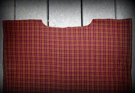 disfraz casero de portal de belén navidad 2013 tunica