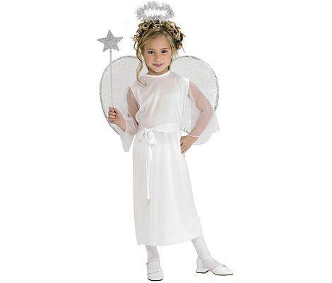 Костюм ангела на новый год своими руками