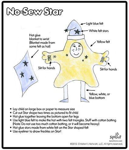 cdisfraz de estrella casero