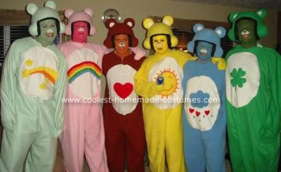 disfraces caseros osos amorosos