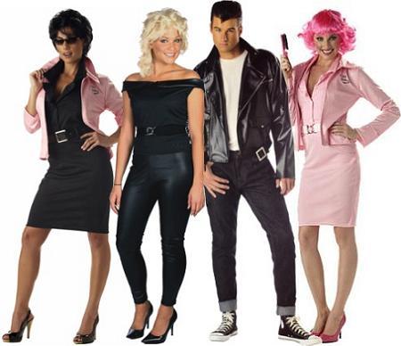 Disfraces de película: Grease