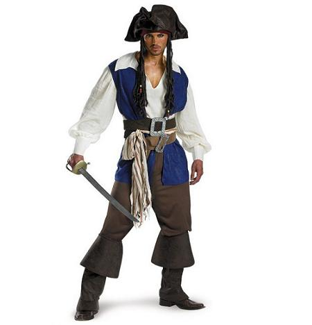 Disfraces de películas: Jack Sparrow