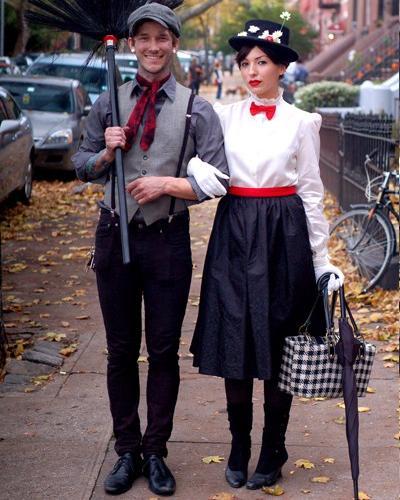 Disfraces de películas: Mary Poppins