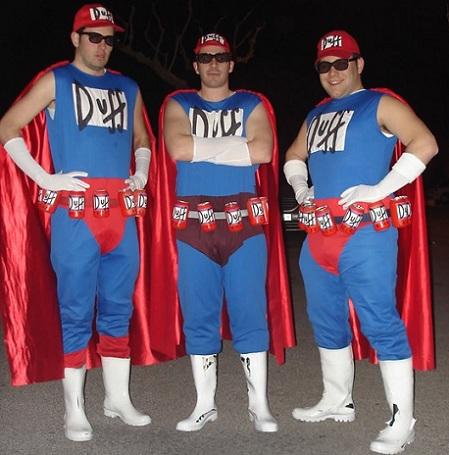disfraces grupo duffman