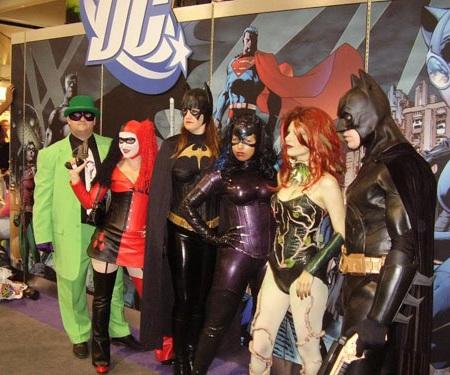 disfraces grupo superheroes