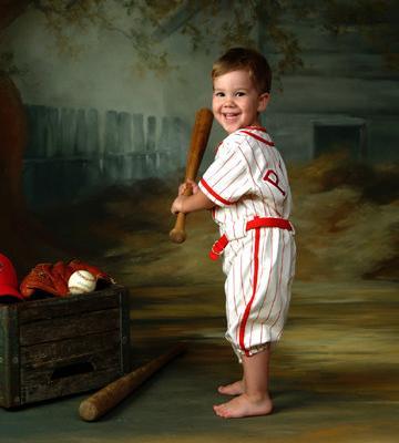 Disfraces para niños de Carnaval: Jugador de beisbol