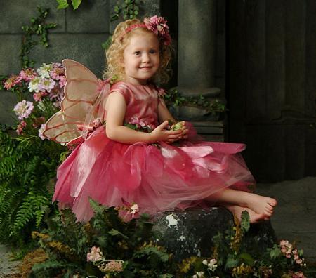 Disfraces para niños de Carnaval: Hada