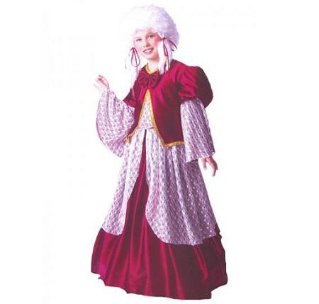 Disfraz barroco niña