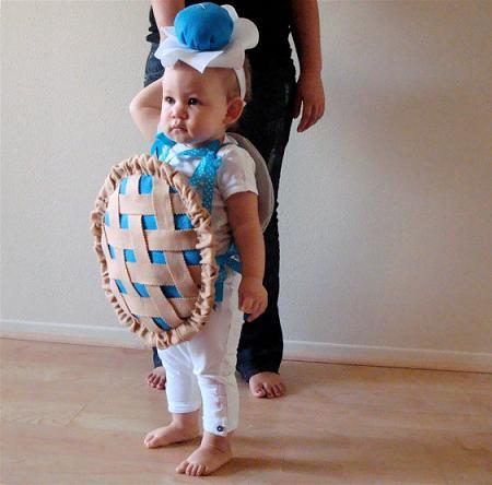 Disfraces originales bebé: tarta