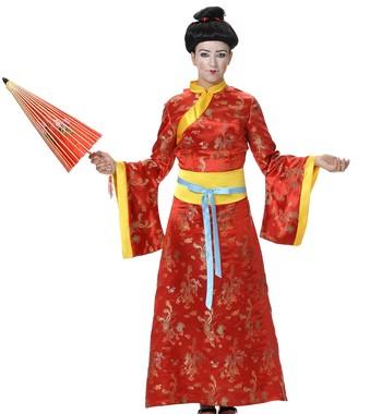 Disfraz Carnaval de china