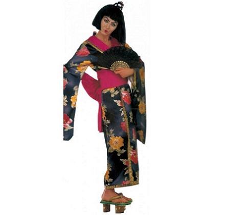disfraz chinos flores