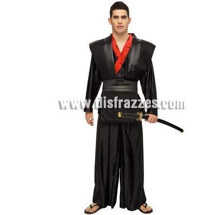 disfraz chinos samurai