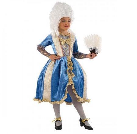 Disfraz de dama de niña