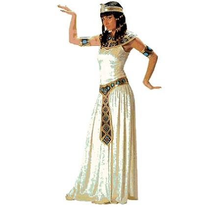 disfraz egipcio mujer