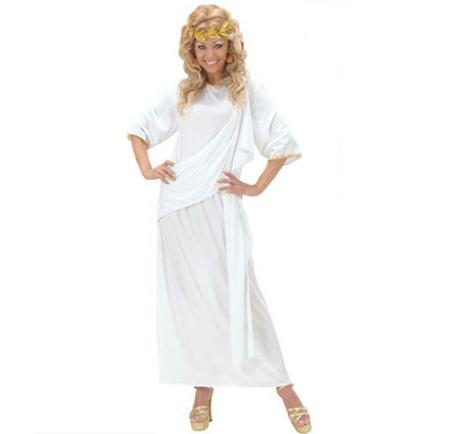 Disfraz largo de griega