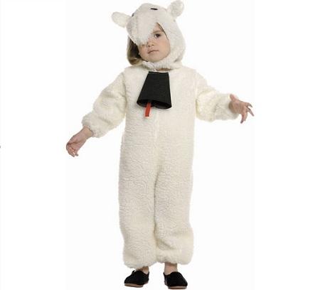 disfraz oveja cencerro
