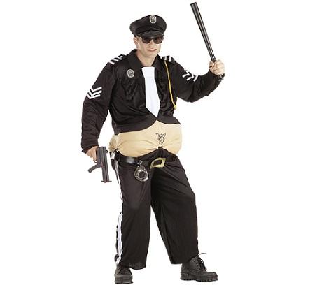 disfraz policia gordo