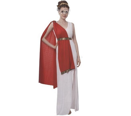 disfraz romana capa