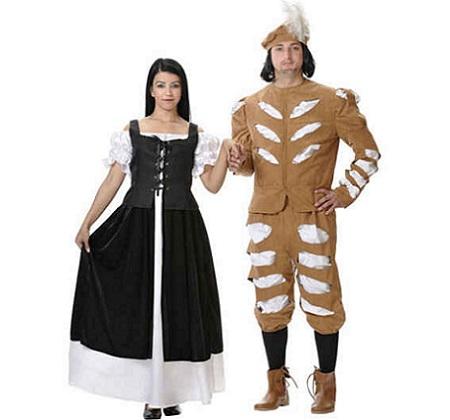 medievales pareja provenzana