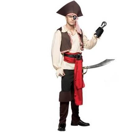 pirata hombre garfio