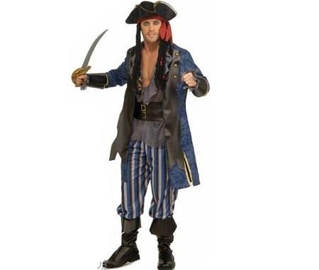 pirata hombre sable