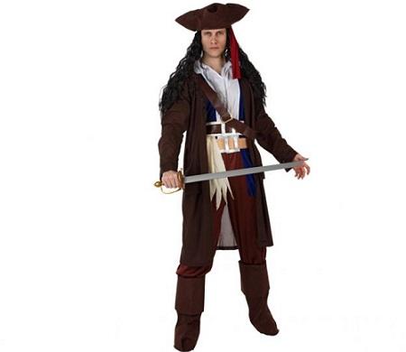 Pirata hombre sombrero