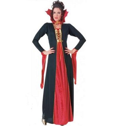 Vampiro mujer rojo