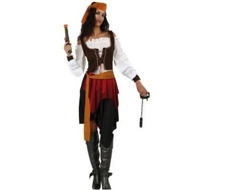 barato mujer pirata