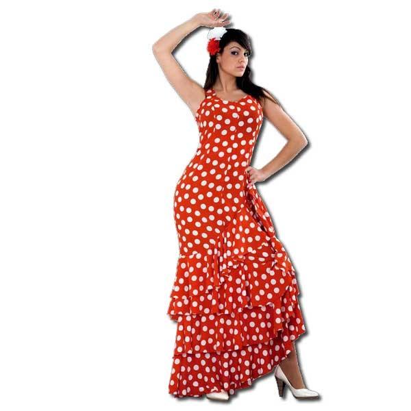 disfraces despedida chica flamenca