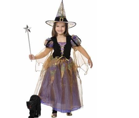 disfraces infantiles halloween bruja