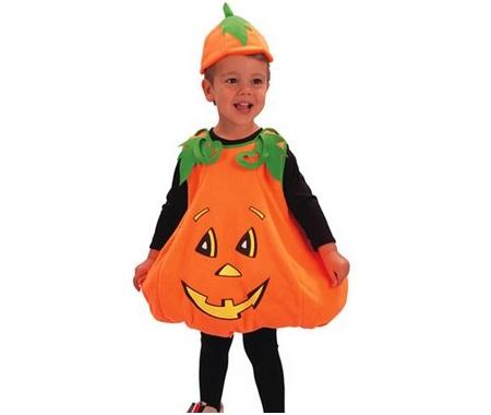 dosfraces infantiles halloween calabaza