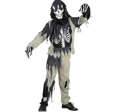disfraces infantiles halloween esqueleto