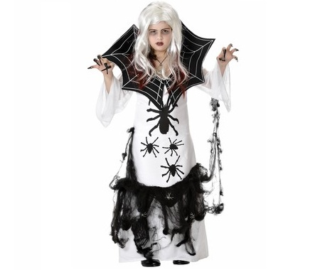 disfraces infantiles halloween mujer arana