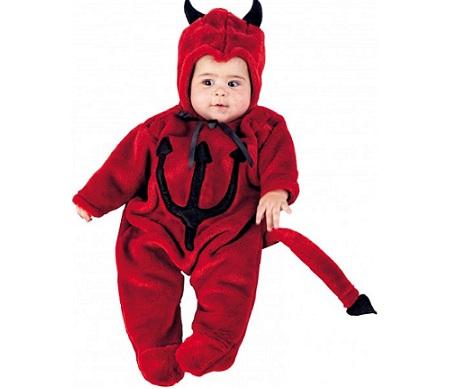 disfraz bebe halloween diablo