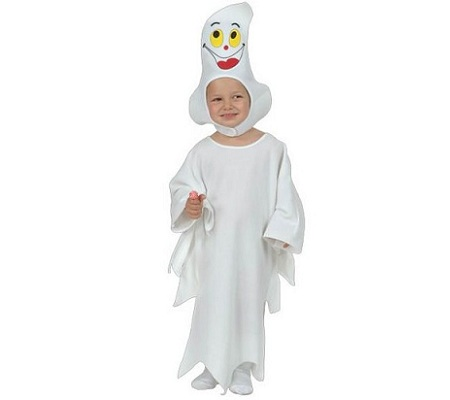 disfraz bebe halloween fantasma