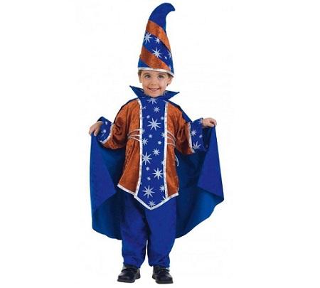 disfraz bebe halloween mago