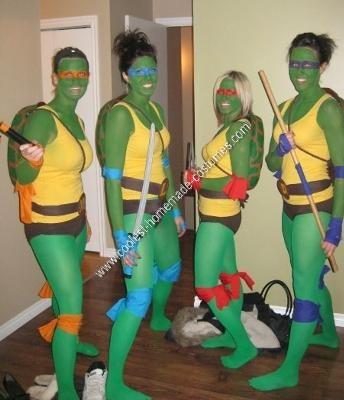 disfraces caseros originales tortugas ninja
