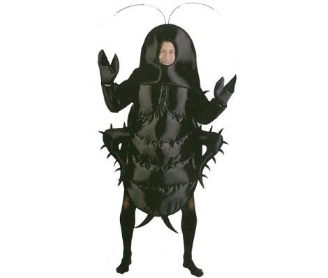 disfraces animales hombre cucaracha