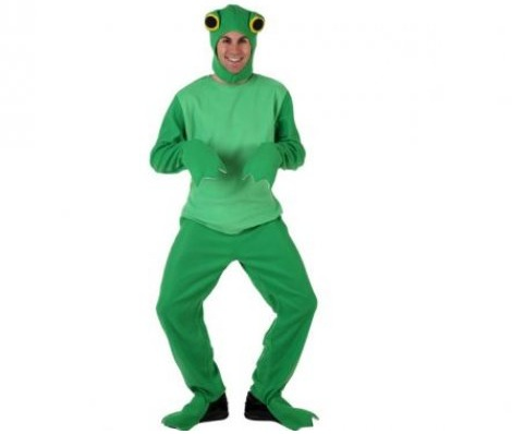 disfraces animales hombre rana