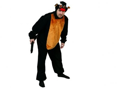 disfraces animales hombre toro