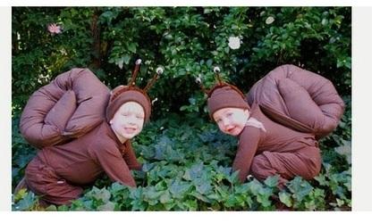 disfraces caseros ninos caracoles