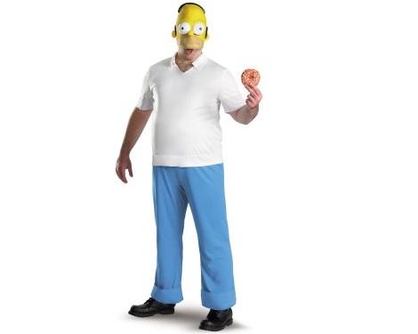 disfraces peliculas homer simpson