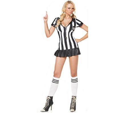 disfraces sexys mujer arbitro