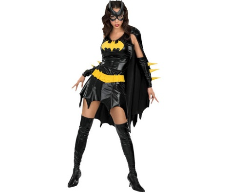 disfraz comic batgirl